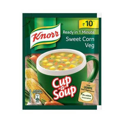 Picture of Knorr Instant Sweet Corn Cup-A-Soup, 10 g