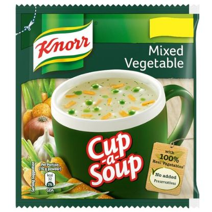 Picture of Knorr Instant Mixed Vegetable Cup-A-Soup, 10 gm