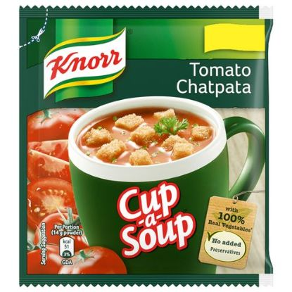 Picture of Knorr Instant Tomato Chatpata Cup-A-Soup, 14 g